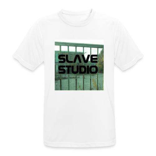 Logo_SLAVE_STUDIO_1518x1572 - Maglietta da uomo traspirante