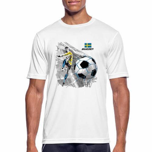 FP22F 16 SWEDEN FOOTBALL - miesten tekninen t-paita