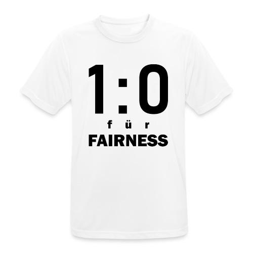FAIRNESS in Führung - Männer T-Shirt atmungsaktiv