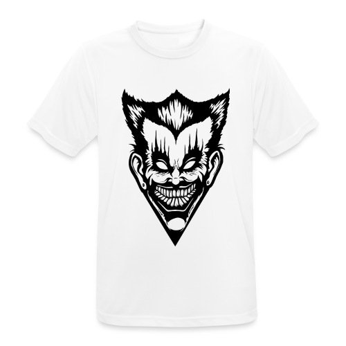Horror Face - Männer T-Shirt atmungsaktiv