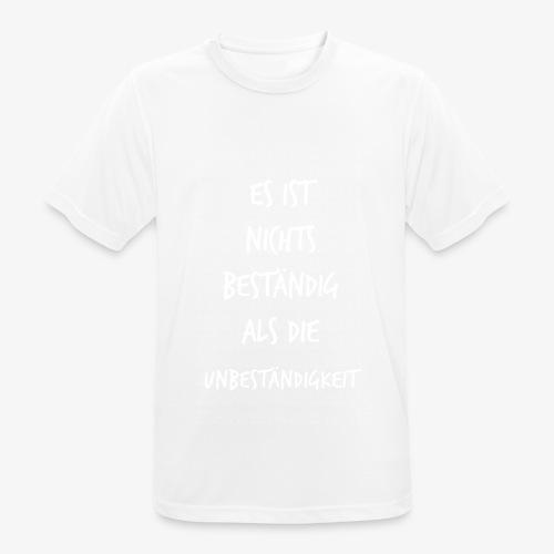 Beständig Immanuel Kant Zitat Spruch Geschenk Idee - Männer T-Shirt atmungsaktiv