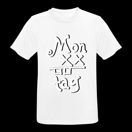 Montag x_x - Männer T-Shirt atmungsaktiv