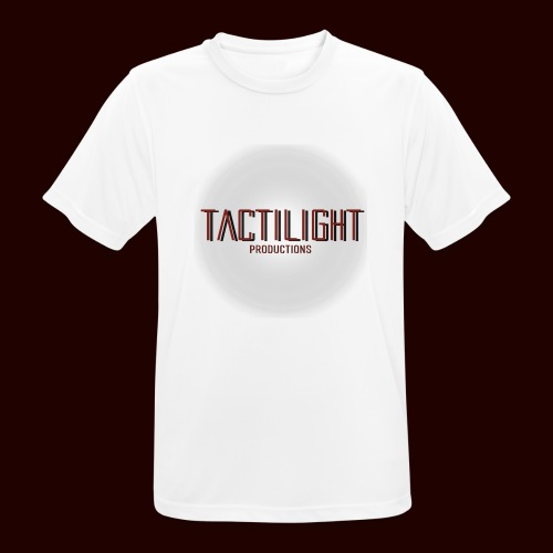 Tactilight Logo - Men's Breathable T-Shirt