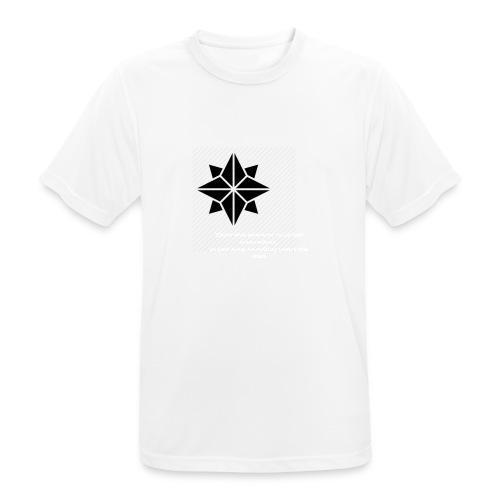 North Star - Maglietta da uomo traspirante