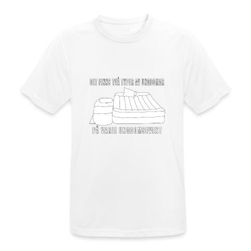 Två typer av ungdomar - Andningsaktiv T-shirt herr