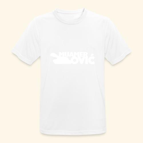 tankovic_vit_tryck - Andningsaktiv T-shirt herr