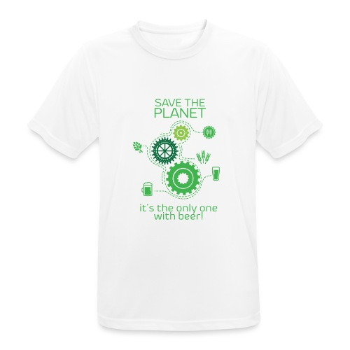Save the planet - Men's Breathable T-Shirt