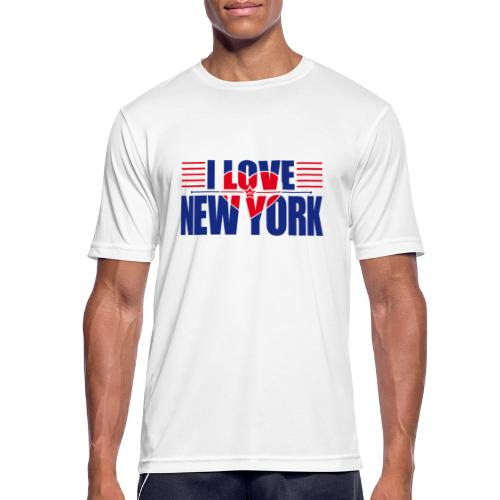 love new york - T-shirt respirant Homme