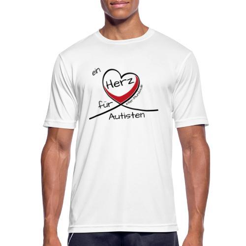 Ein Herz für Autisten - Männer T-Shirt atmungsaktiv