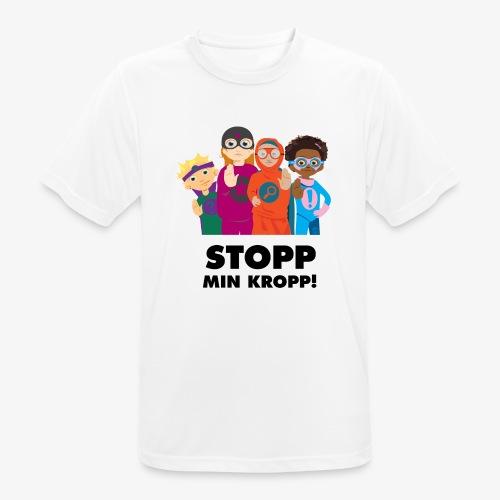 Stopp min kropp! - Andningsaktiv T-shirt herr