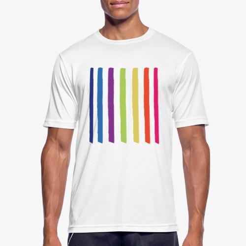 Linee - Maglietta da uomo traspirante