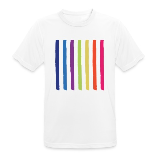 Linjer - Herre T-shirt svedtransporterende