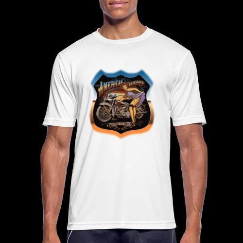 AMERICAN CLASSIC - Männer T-Shirt atmungsaktiv