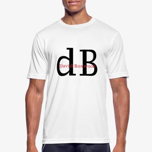 dB - Maglietta da uomo traspirante