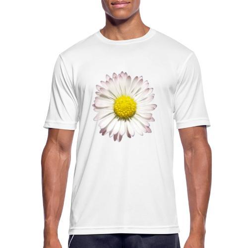 TIAN GREEN - Gänse Blümchen - Männer T-Shirt atmungsaktiv