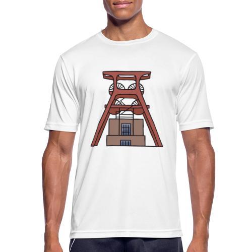 Zeche Zollverein Essen c - Männer T-Shirt atmungsaktiv