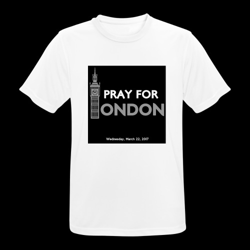 PRAY FOR LONDON - T-shirt respirant Homme
