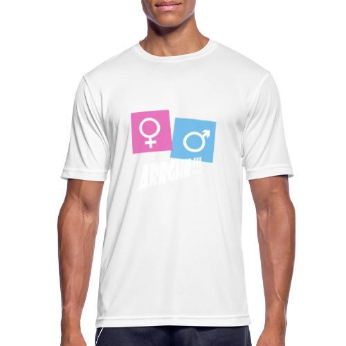Kønsstereotyper argh - Herre T-shirt svedtransporterende