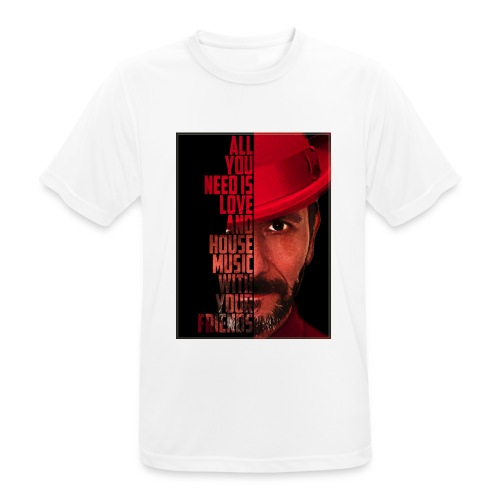 All U NEED - Männer T-Shirt atmungsaktiv