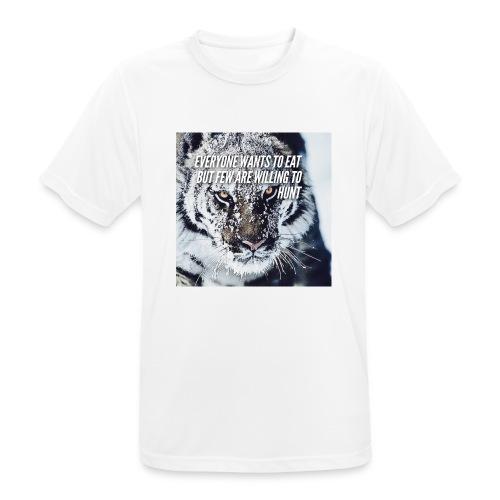 Eat Hunt - mannen T-shirt ademend