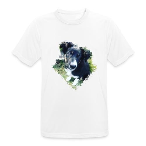 colliegermanshepherdpup - Men's Breathable T-Shirt