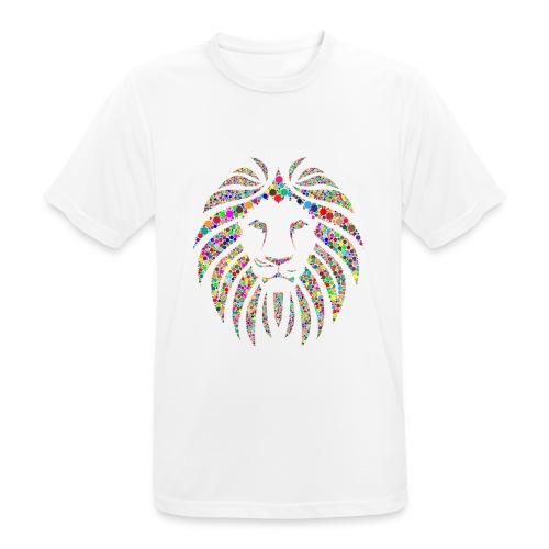 Ausdruck des Löwen - Männer T-Shirt atmungsaktiv