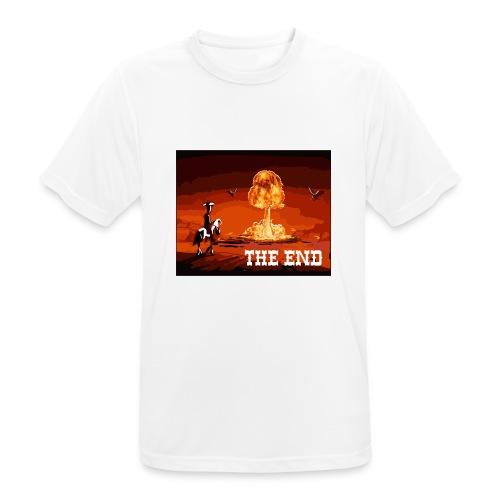 THE END (version 2 : pour toute couleur de fond) - T-shirt respirant Homme