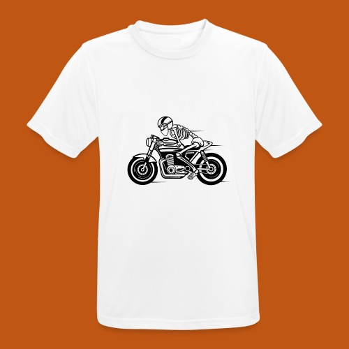 Cafe Racer Motorrad 05_schwarz - Männer T-Shirt atmungsaktiv