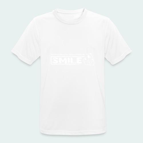 Offizielles SMILE-Shirt 2018 - Männer T-Shirt atmungsaktiv