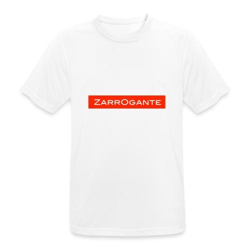 BasicLogoRed - Maglietta da uomo traspirante