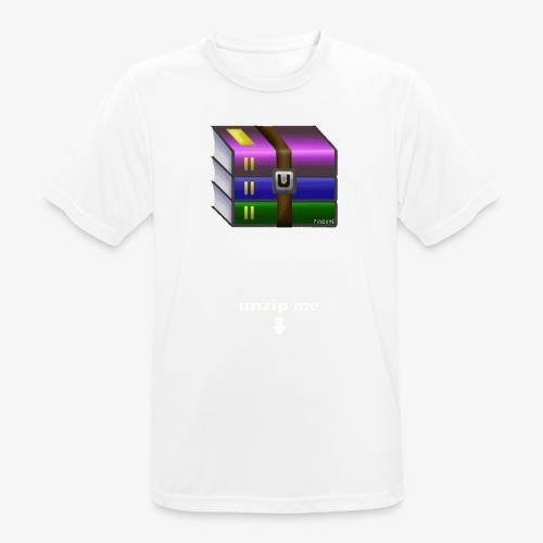 unzip me - T-shirt respirant Homme