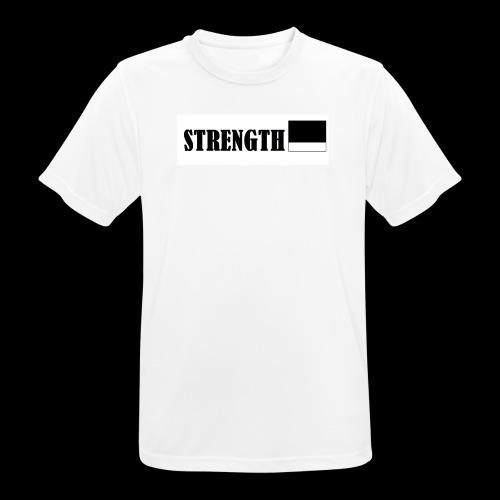 STRENGTH - miesten tekninen t-paita