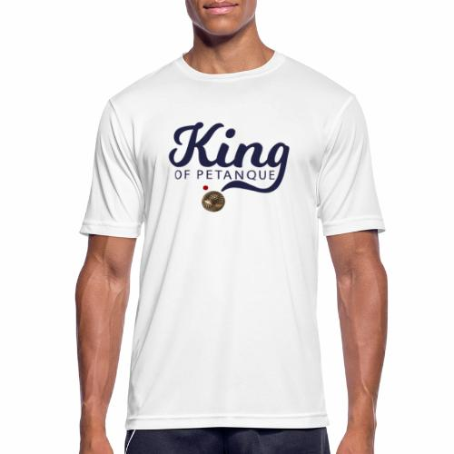 KING OF PETANQUE - T-shirt respirant Homme