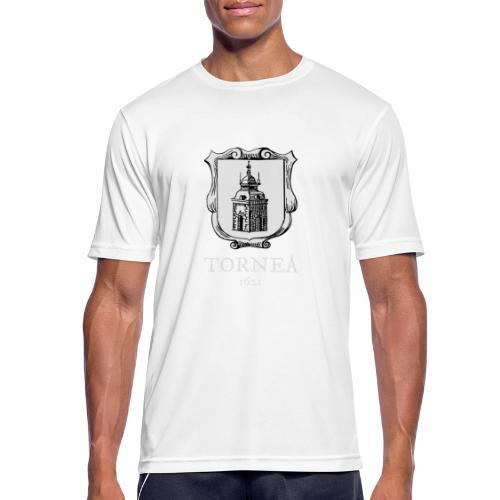 Torneå 1621 vaalea - miesten tekninen t-paita