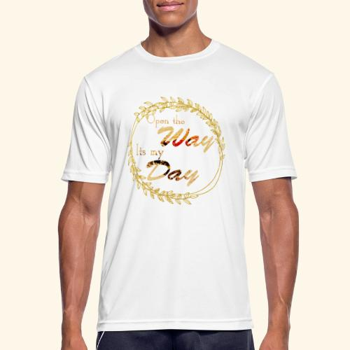 its my day weddingcontest - Men's Breathable T-Shirt