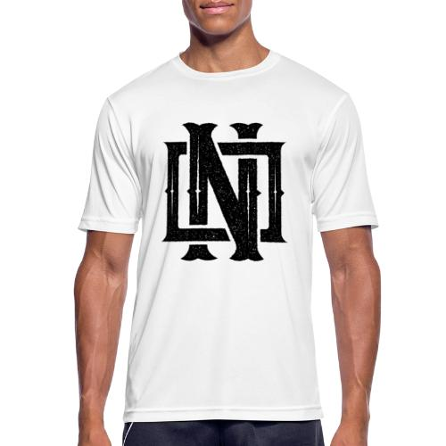 Nineone Monogram NO 01 black - Männer T-Shirt atmungsaktiv