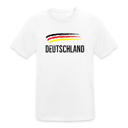 Deutschland, Flag of Germany - Men's Breathable T-Shirt