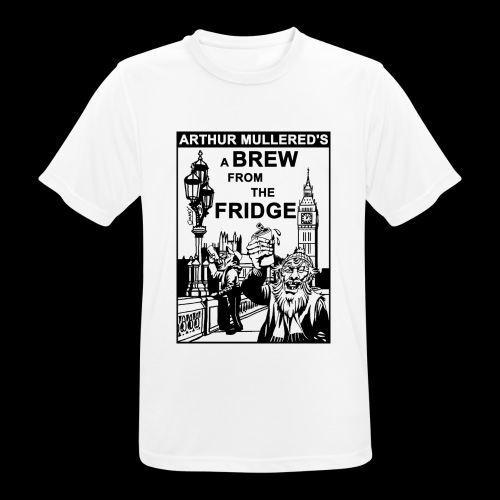 A Brew from the Fridge v2 - Men's Breathable T-Shirt