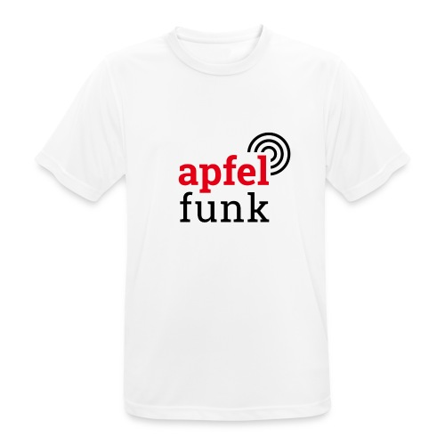 Apfelfunk Edition - Männer T-Shirt atmungsaktiv