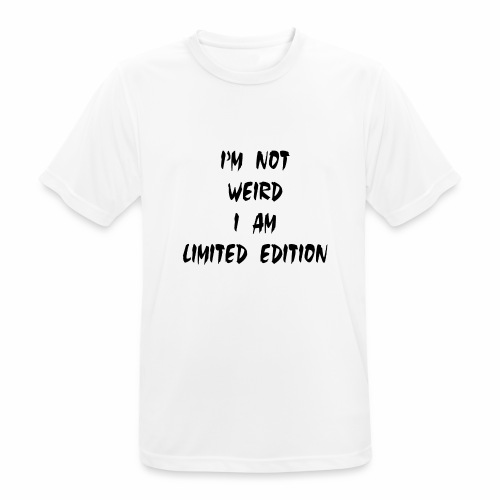 I Am Limited Edition - Men's Breathable T-Shirt