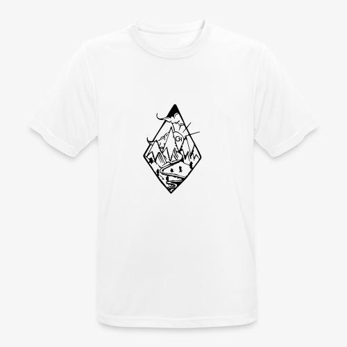 losange cr - T-shirt respirant Homme