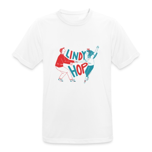 Lindy hop - Men's Breathable T-Shirt