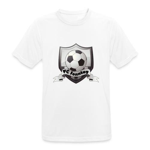 FC Sonntag Logo - Männer T-Shirt atmungsaktiv