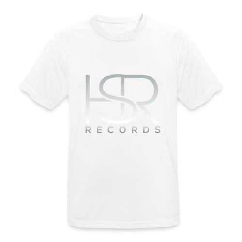 HSR RECORDS - Maglietta da uomo traspirante