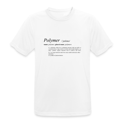 Polymer definition. - Men's Breathable T-Shirt