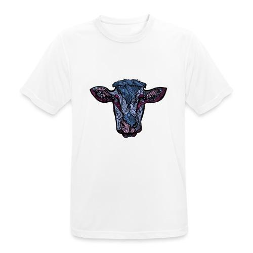 Ku - Pustende T-skjorte for menn
