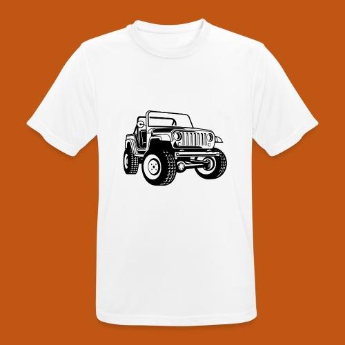 Geländewagen / Jeep SUV 03_schwarz - Männer T-Shirt atmungsaktiv