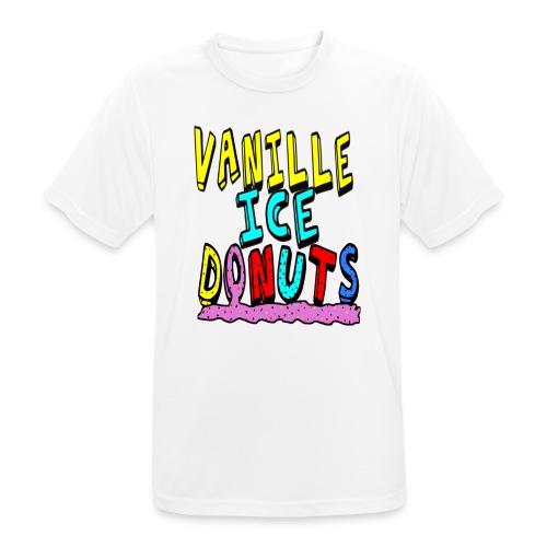 vanille eis donuts - Männer T-Shirt atmungsaktiv