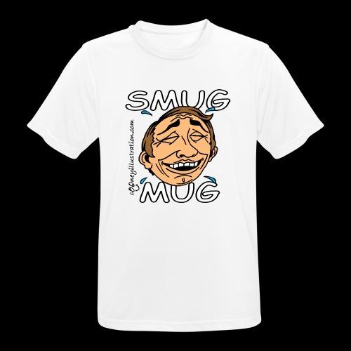 Smug Mug! - Men's Breathable T-Shirt