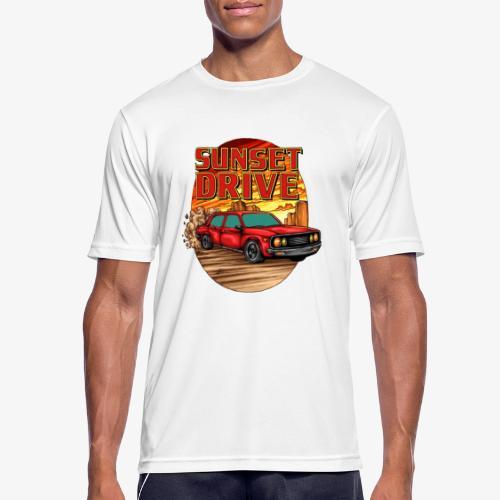 Sunset Drive - Männer T-Shirt atmungsaktiv